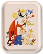 "Moomin tray ""Moomin Easter"", off white"