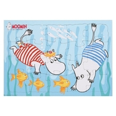 Moomin Puzzle 2-pack (20 pieces), Moomin and Snorkmaiden + Wild animals