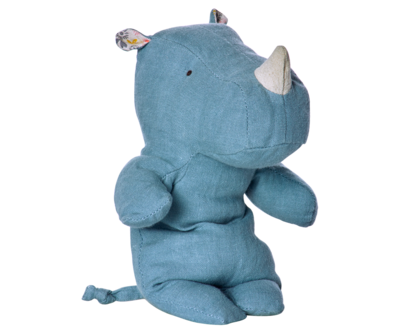 Maileg - Safari friends, Rhino blue, small
