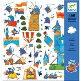 Stickers Riddare, 160 st