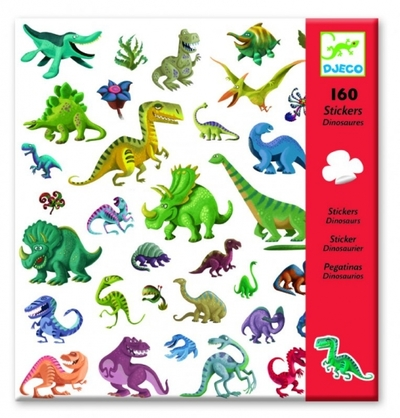Stickers Dinosaurier, 160 st