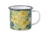 William Morris enamel mug, Bower