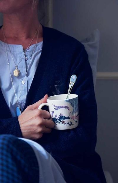 "Mumin kaffesked vinter 2019 ""Lilla Knyttet"""