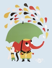 Poster från Littlephant Rain