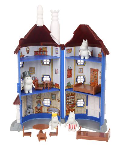 Moomin - openable Moomin house