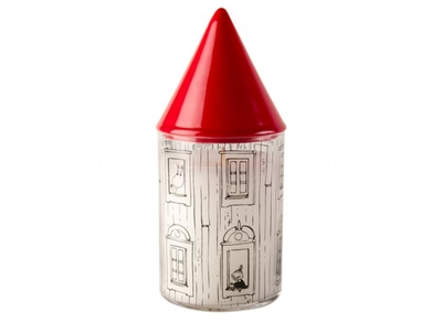 Candle in jar with lid, Moominhouse, 17 cm