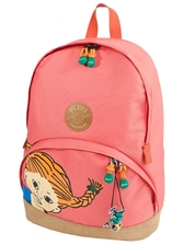 Pippi Backpack, pirate pink