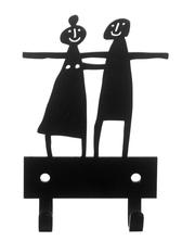 Bengt & Lotta - hängare - Par, svart