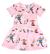Pippi kalasklänning, rosa