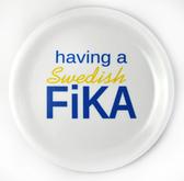 Glasunderlägg med kant - Having a Swedish Fika