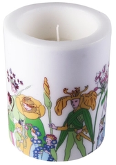 "Elsa Beskow lantern candle ""Flower People"""