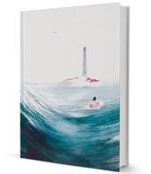 """Moomin hard cover notebook """"Moominpappa at sea"""""""