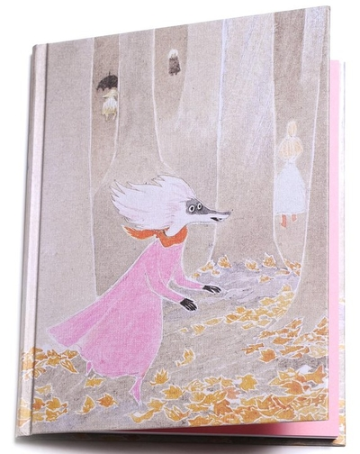 """Moomin hard cover notebook """"The Moominvalley in November"""""""