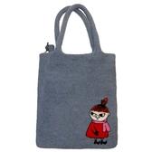 Lilla My, grå väska i handfiltad ull, Klippan