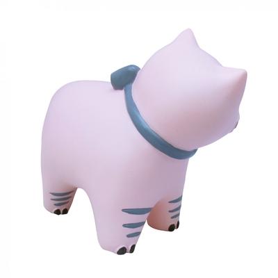 Katt lampa - baby rosa, Euro plug