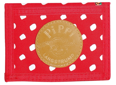 Pippi wallet, red